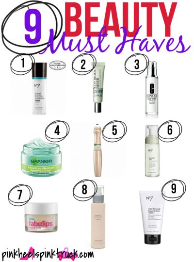 9 Beauty Must Have Products that you should have in your Beauty Bag!