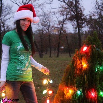 Skip N' Whistle Ugly Christmas Sweater Tee