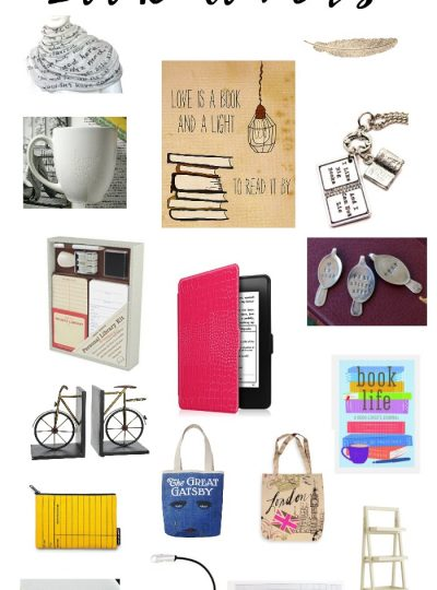 The Best Gifts for the Book Lover
