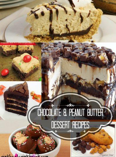 23 Yummy Chocolate & Peanut Butter Recipes