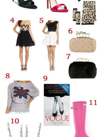 A Gift Guide for Fashionista's