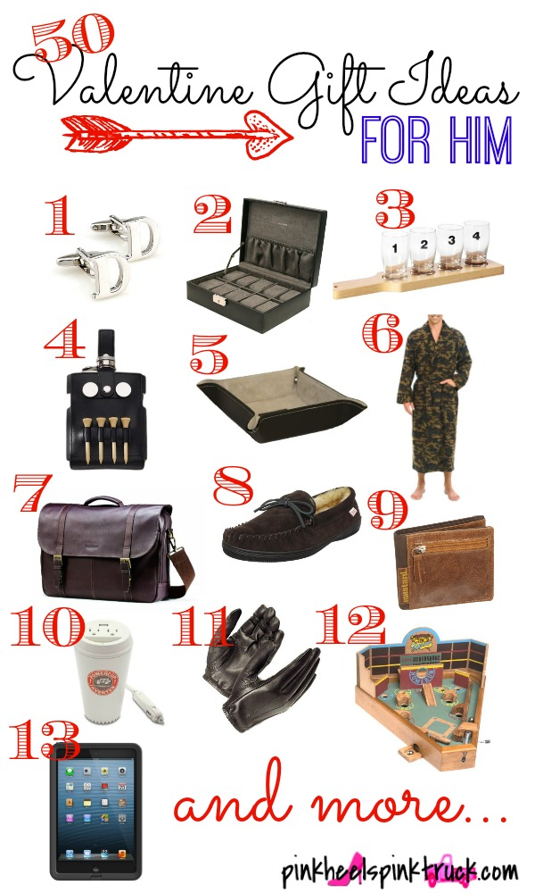 50 valentine gift ideas for him taylor bradford for Great valentine gifts for guys