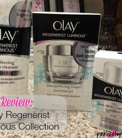 Olay Regenerist Luminous Collection Review