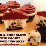 Oreo and Chocolate Chip Cookie Dough Cupcake Recipe