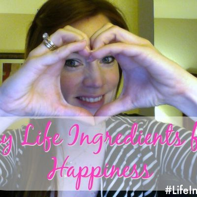 Sharing my Life Ingredients for Happiness