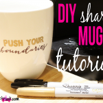 Ever wondered how to create your own Sharpie Mug?? I'm showing you how in this DIY Sharpie Mug Tutorial