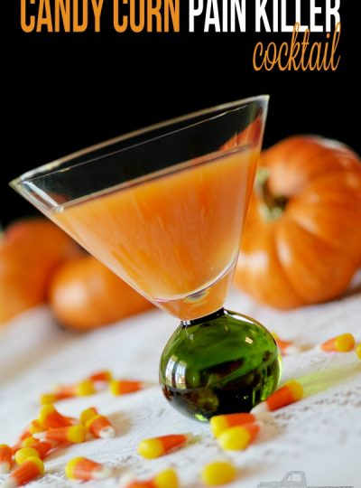 Candy Corn Pain Killer Cocktail