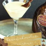 Love Bacon?? Love Chocolate?? Then you are in luck! This super yummy cocktail combines both! Check out this Bacon Chocolate Martini!
