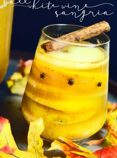 Cocktail: Fall White Wine Sangria
