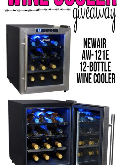 Enter for a chance to win your very own NewAir 12-Bottle Countertop Wine Cooler. Valid from 10-5-14 to 10-15-14.