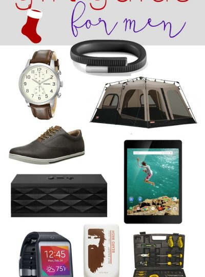 It's time to start shopping for ALL the men in your life! I've got Men's Fashion, Grooming, Sports, Bar items and MORE!
