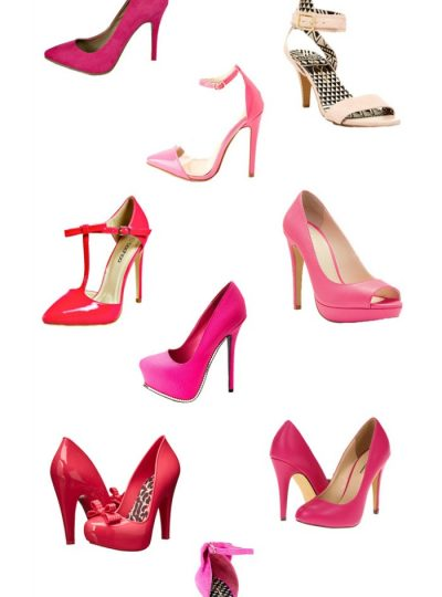 If you are a Pink fan, then you need to snag you a pair of the perfect pink heels! (or two or three!)