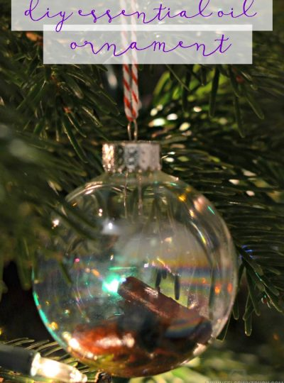 Create your own DIY Essential Oil Ornaments!! Check out these simple tutorial that will make your home smell like Christmas!