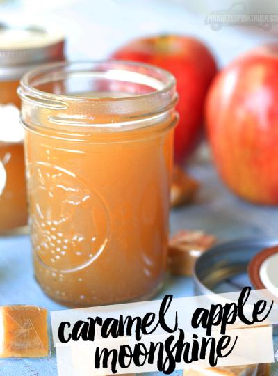 Cocktail: Caramel Apple Moonshine