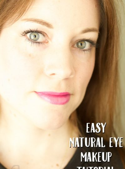 Need a simple natural eye makeup routine? Check out my Easy Natural Eye Makeup Tutorial!