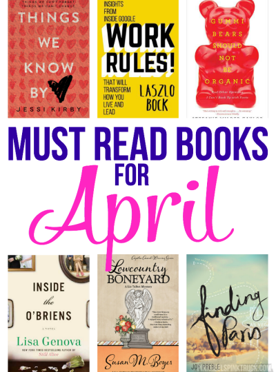 Must Read Books for April