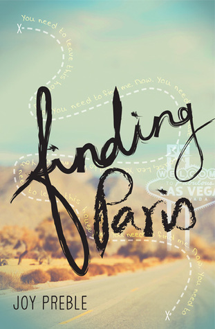 Book Review: Finding Paris by Joy Preble