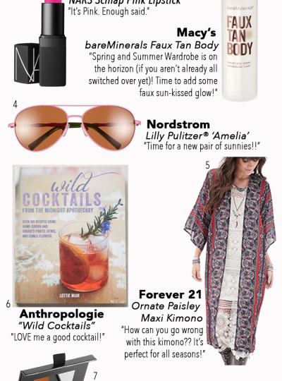 If you love to shop and love to find fun stuff under $100, then hop over and check out my Budget Buys for May! Happy Shopping!