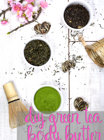 Wanting to make your own DIY Body Butter? Then how about trying out this DIY Green Tea & Citrus Body Butter recipe! Perfect for dry skin!!