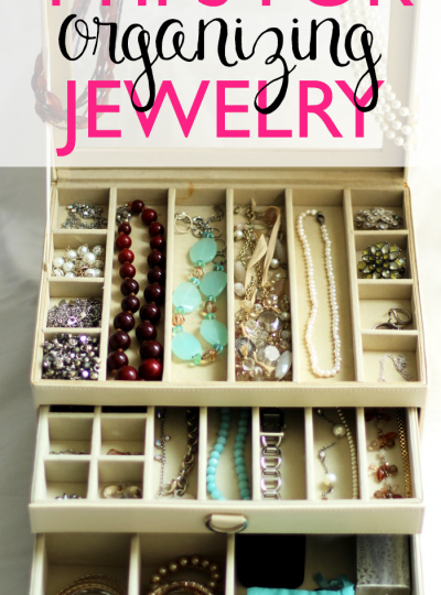 Does your jewelry frequently disappear? Or does it get tangled up with the rest of your jewelry? Check out these 4 Tips for Organizing Jewelry