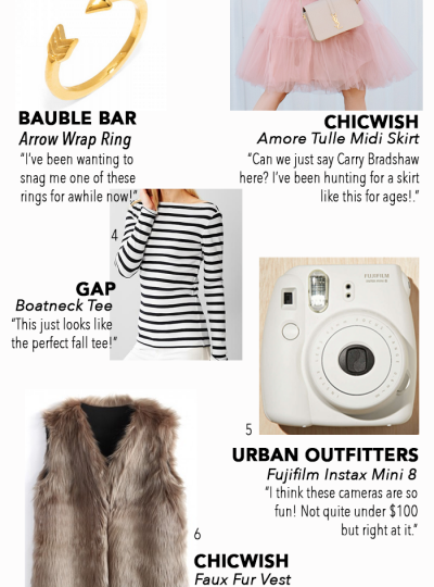 Looking for some fun things to add to your closet? Check out my August Budget Buys! I've got some fab finds this month!