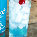 Needing something fruity for your next summertime party? Try this Blue Ocean Cooler featuring Alizé Bleu Passion liqueur.