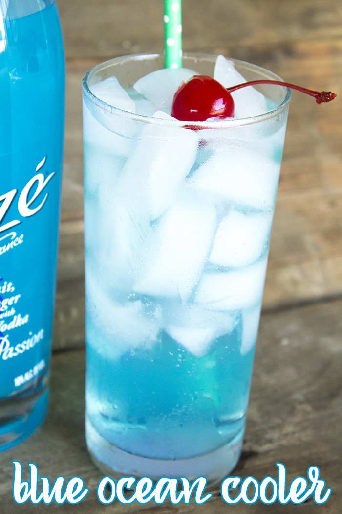 alize bleu how to drink