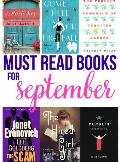 Must Read Books for September
