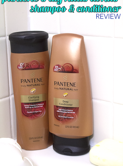 Check out my Review of Pantene Truly Natural Hair Shampoo and Conditioner Products Review
