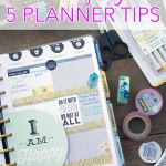 Planner Organization - 5 Planner Tips to help you get your life organized!