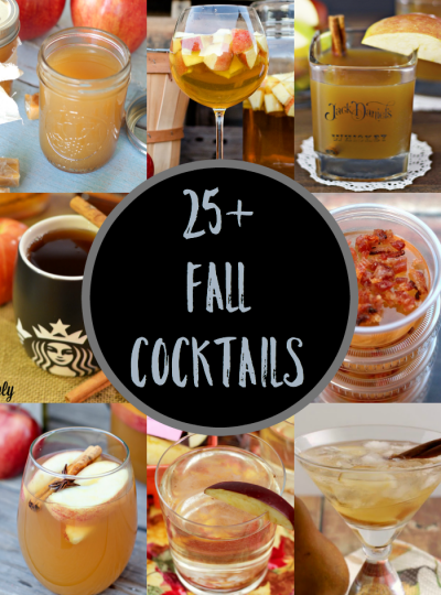 It's Fall!!! And I'm excited to start creating more Fall-related cocktails for you! But until then, how about we cheers together over these delish Fall Cocktails!
