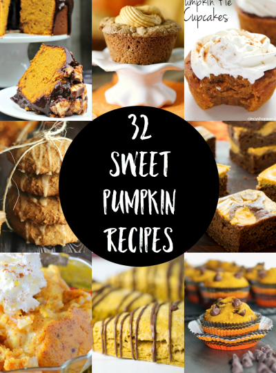 32 Sweet Pumpkin Recipes