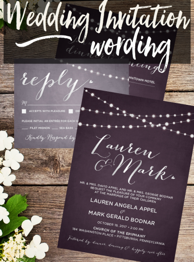 Tying the knot soon? Wondering how to word your wedding invitations? Hooplah House Creative shares their Wedding Invitation Wording tips