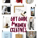 Have a female creative entreprenuer in your life and wondering what to get her for the holidays? Check out my Gift Guide for Women Creative Entrepreneurs