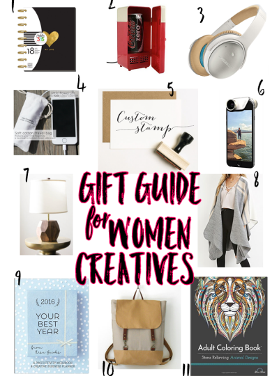 Gift Guide for Women Creatives