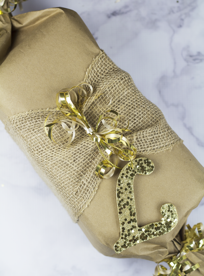 Easy Gift Wrapping Idea #GiftofStyle