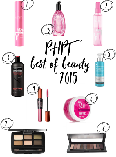 My top beauty picks of 2015. Come see what made my list!