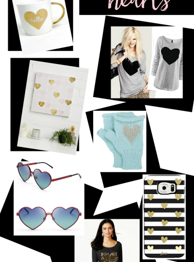 Lover of all things hearts? Then you will for sure fall in love with this roundup of heart prints!