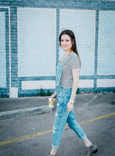 How to Style Overalls – version 3