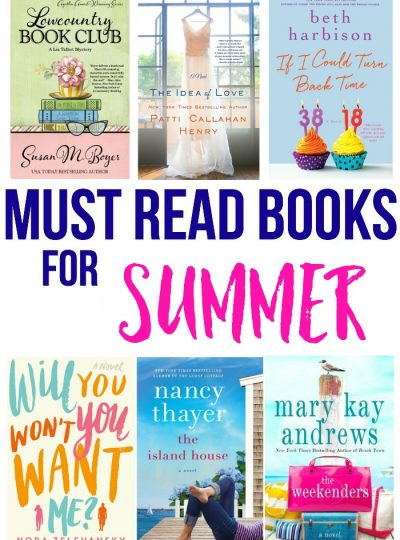 It's summer time!!! Time to start on that summer bucket reading list! Here are my picks for this summer! My Must Read Books for Summer.