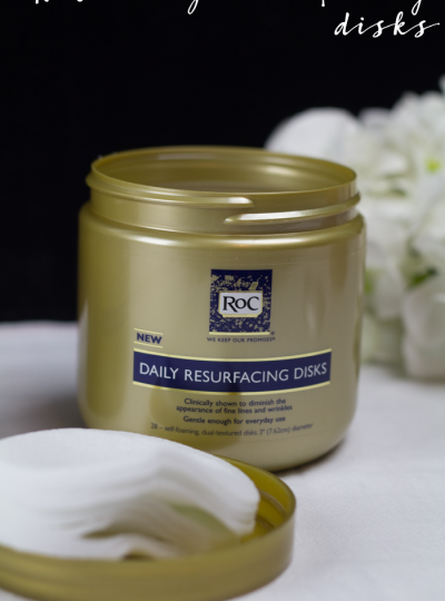roc daily resurfacing disks review #womenwhoroc (ad)