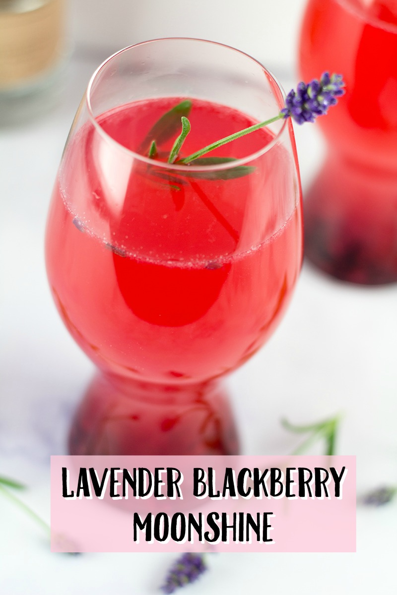 Lavender Blackberry Moonshine Recipe
