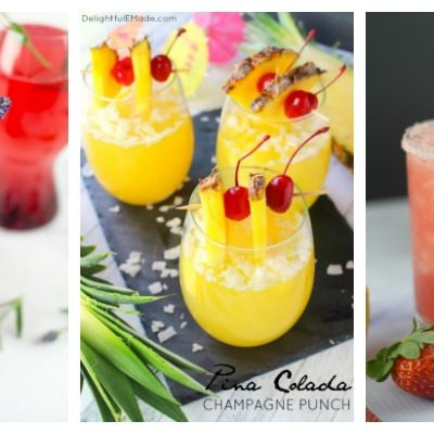 Spring Cocktails + Create & Crave