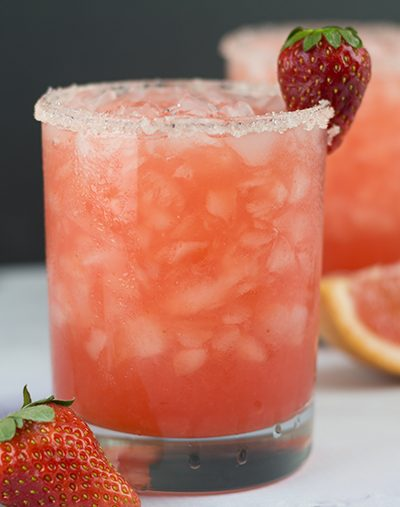 Strawberry Salty Dog Moonshine