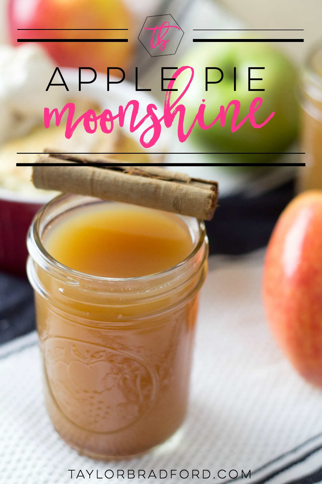 Looking for a fun fall cocktail?? How about my Apple Pie Moonshine? This is sweet and smooth and you'll wonder why you never had it in your life before!
