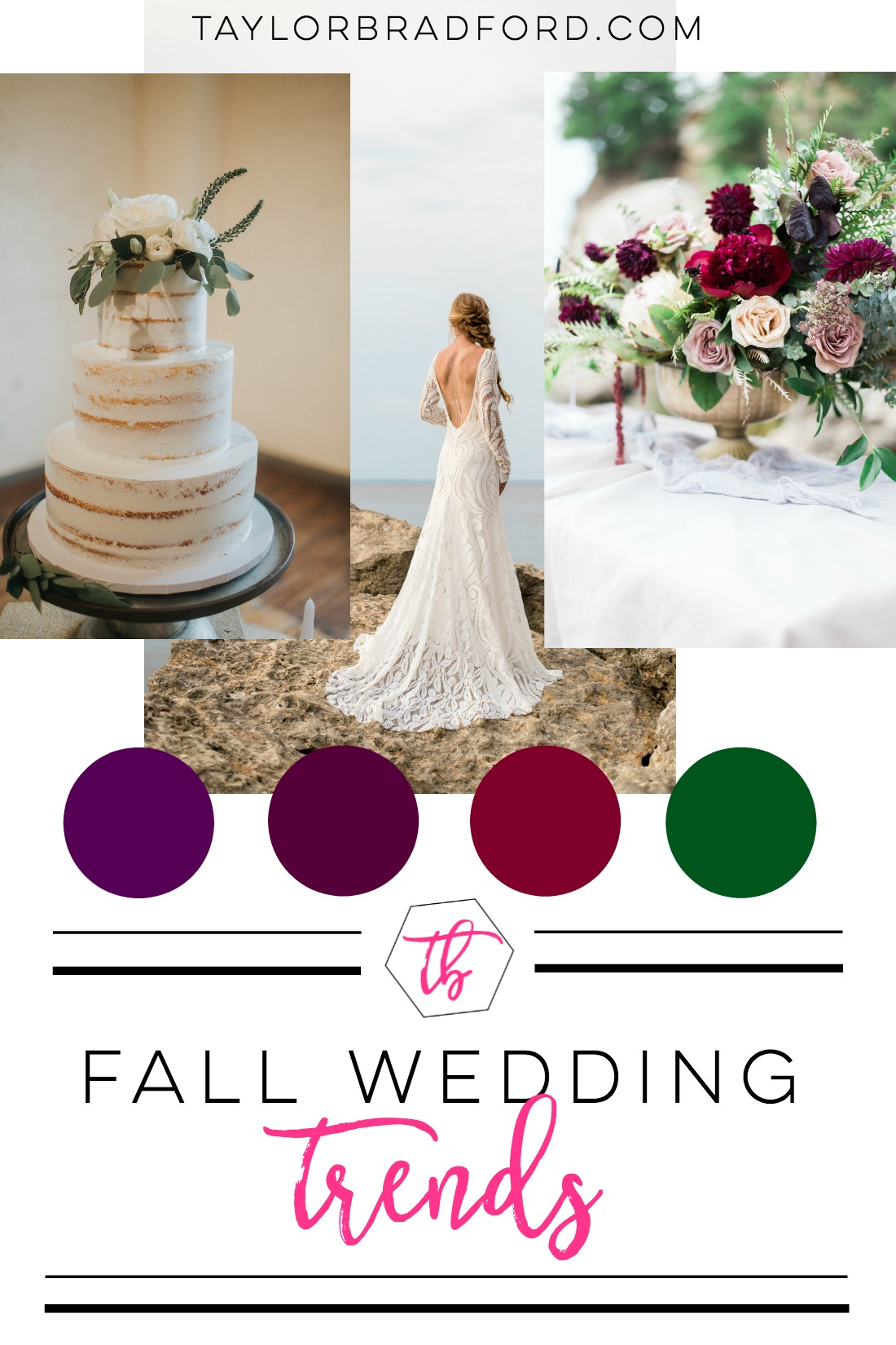 Check out what is trending this fall wedding season with these Fall Wedding Trends.