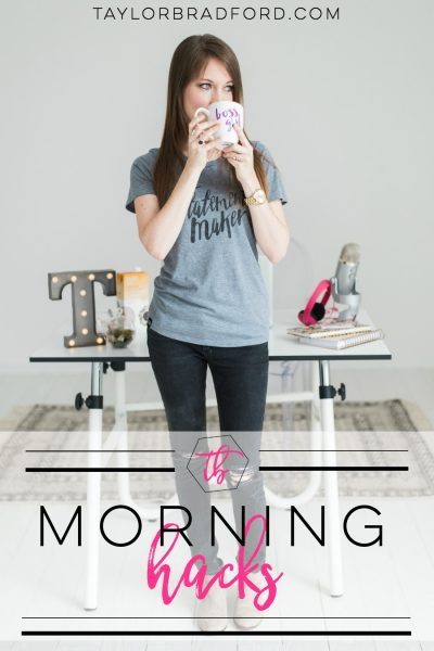 5 Morning Hacks to Jumpstart Your Day