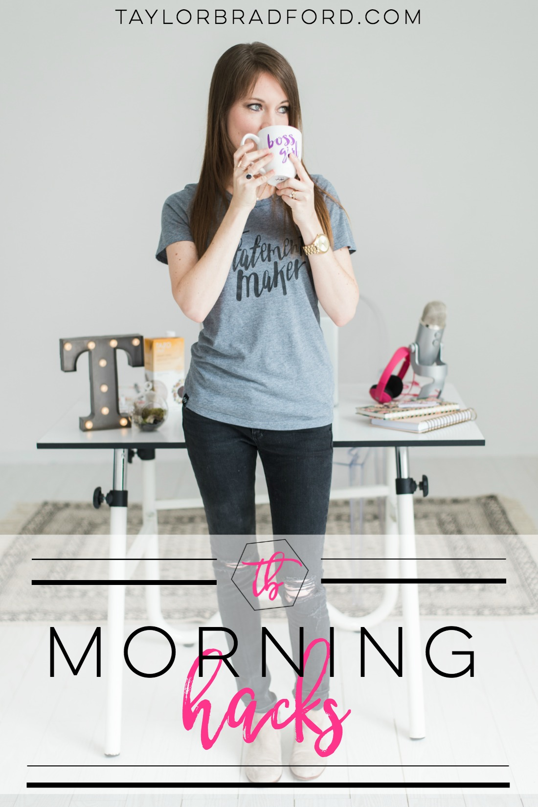 Have a rough time waking up in the morning? Check out my Morning Hacks to Jumpstart your Day!