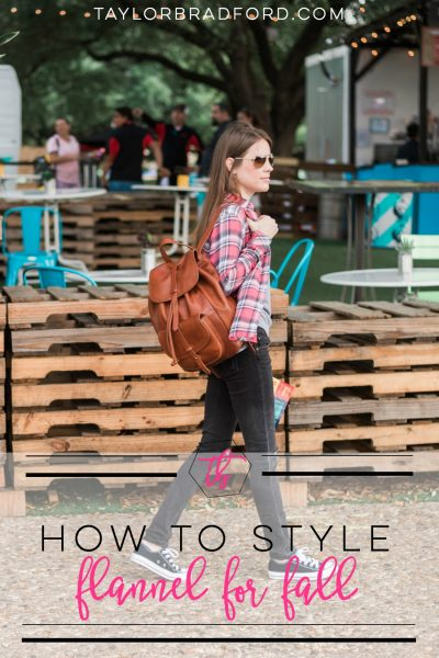 HOW TO STYLE A FLANNEL SHIRT FOR FALL