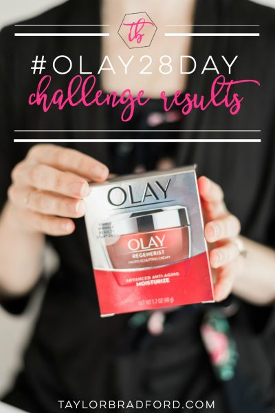 RESULTS ARE IN!! #OLAY28DAY